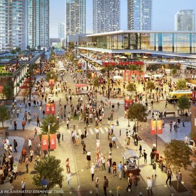 Concept Renderings (Olympic Way)
